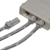 TRIO-3RW30K-TD 3W White Round 3000K LED Light - Quick Connect
