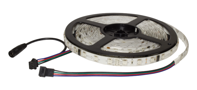 F10-RGBD-12-48-IP67 - 12Vdc IP67 LED Flexi Strip Digital RGB Tape -2708