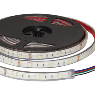 F10-RGBD-12-48-IP67 - 12Vdc IP67 LED Flexi Strip Digital RGB Tape