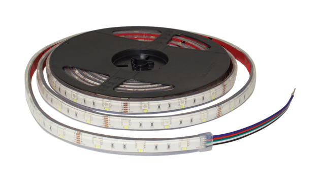 F10-RGBD-12-48-IP67 - 12Vdc IP67 LED Flexi Strip Digital RGB Tape