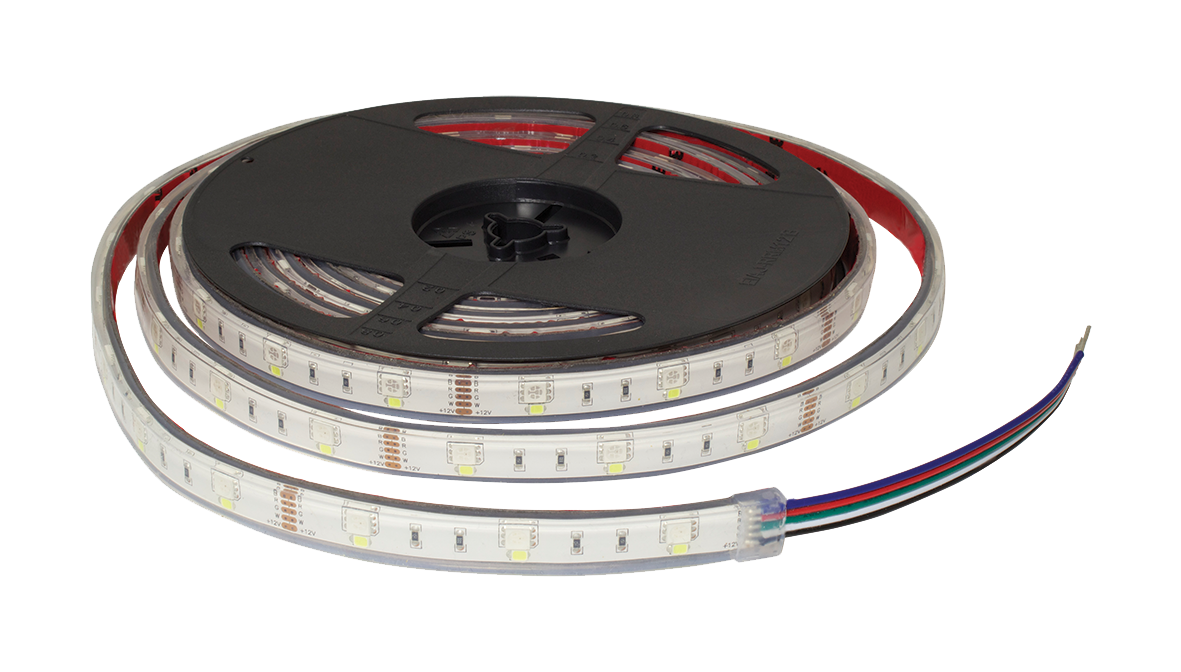 F10-RGBD-12-48-IP68 - 12Vdc IP68 LED Flexi Strip Digital RGB Tape