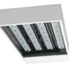 LOWBAY 8050K-MS - LED Low Bay 80W 5000K with Microwave on/off Sensor