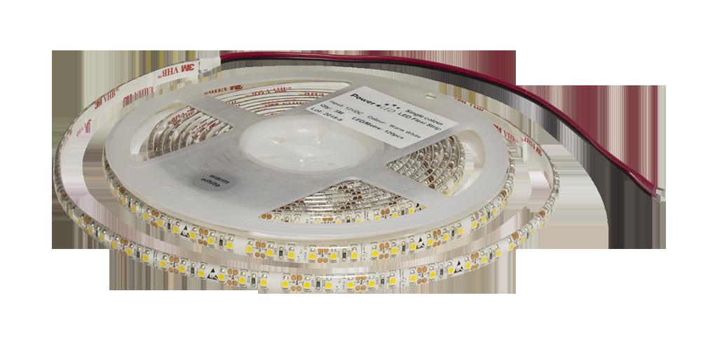 FS8-C1210-12-120 - LED Flexi Strip - Edge Side Lit 8mm