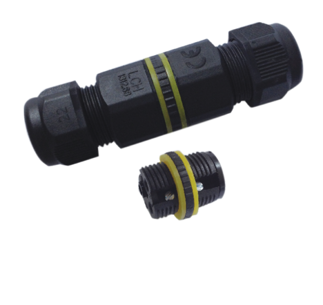 ICON-THRU-3 IP68 2Way 3Pole Icon Waterproof Connecor