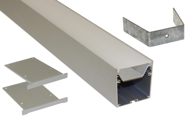 EXT-10 Deep Profile Surface Mounted Extrusion