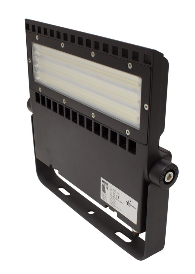 FLEX-LENS-150-57K-32x84B -150W Asymmetric LED Area Light 5700K with 32x84° tilt 30° lens