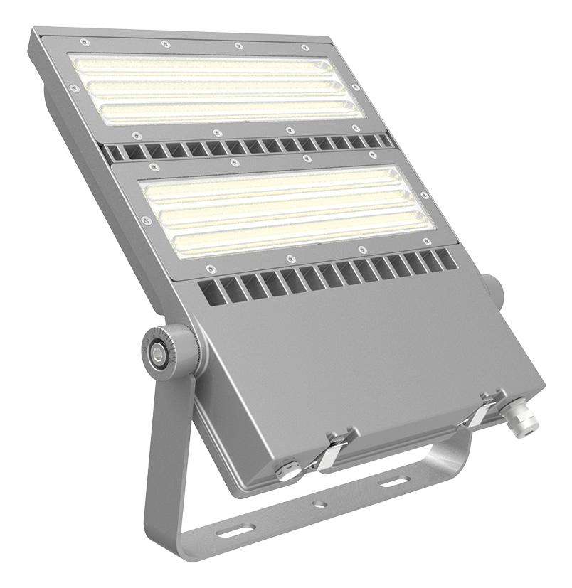 FLEX-LENS-200-57K-50x88S 200W Asymmetric floodlight 5700K with 50x88° tilt 45° lens LED Area Light
