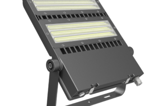 FLEX-LENS Series - 200W-240W Asymmetric Lens 125Lm per Watt LED Area Floodlights