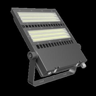 FLEX-LENS Series - 150W-240W Asymmetric Lens 125Lm per Watt LED Area Floodlights