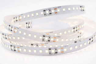 F0-TC-28-2-128-F12-20-FP - 6000K 3300Lm 22W 24VDC 128LEDs Per Mtr Intelligent Temperature Controlled LED Strip