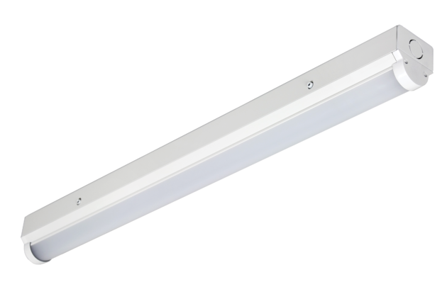 TYRO4-2250-4K-EM 18W 2250lm 4000K LED Slim Batten Emergency Option