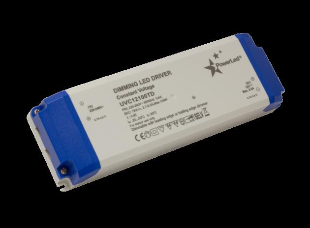 UVC100TD Series 100W Constant Voltage Triac Dimming LED Drivers