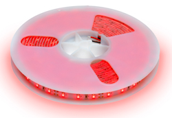 F10-R3528-12-60-IP65 Red Low Power LED Flexi Tape