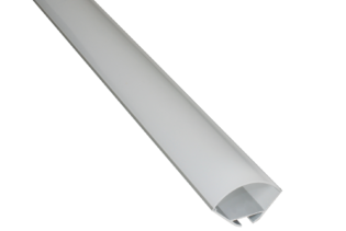 EXT7 - Low Profile Surface Mounted Flexi Strip Aluminium Extrusion