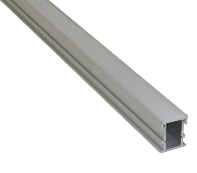 EXT9 - Recessed Mounted Flexible Strip Aluminium Extrusion