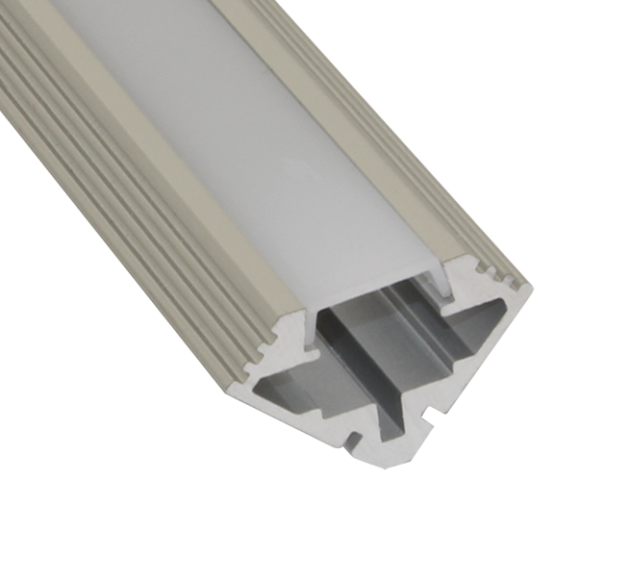 EXT4 Corner Mounted Aluminium Extrusion