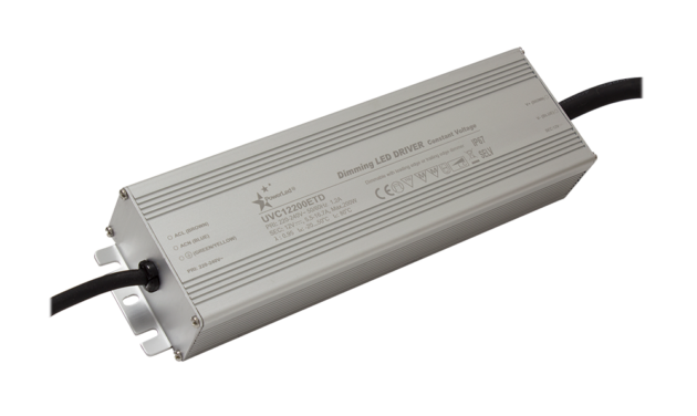 UVC200ETD Series 200W Constant Voltage Triac Dimming LED Drivers