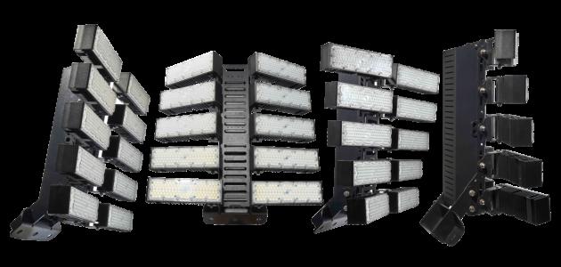 T Series Adjustable Module Stadium Area Lighting
