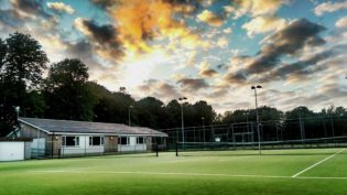 Tennis Club LED Lighting Scenario