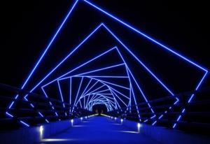 Art walkway