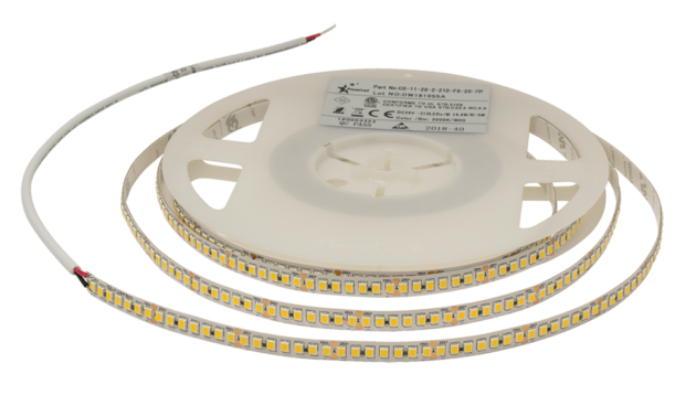C0-11-28-2-210-F8-65-98Ra High CRI Flexible LED Tape 14.4W 24VDC 1890LM