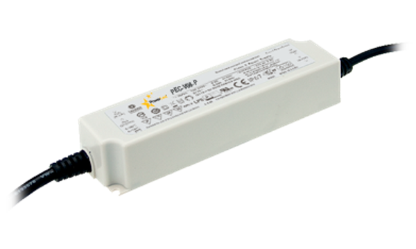 60.48W 54V 1.12A IP67 Rated Constant Voltage LED Lighting Power Supply