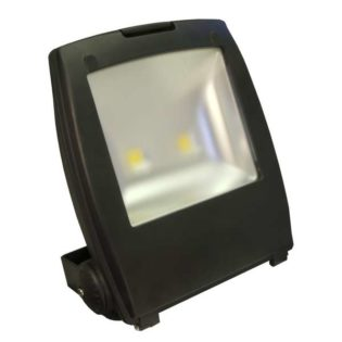 80W IP65 Rated Compact High Power Energy Saving Cool White LED Floodlight
