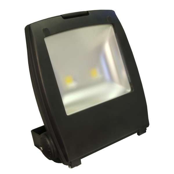 80W IP65 Rated Compact High Power Energy Saving Warm White LED Floodlight