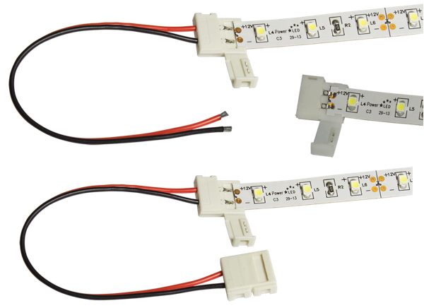 88-MP Solderless Connector Multi-Pack for 8mm LED Flexi Strip