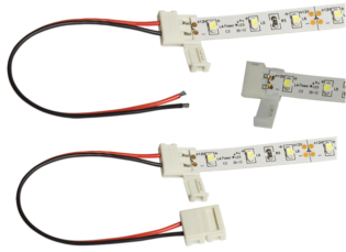 1010-MP Solderless Connector Multi-Pack for 10mm LED Flexi Strip