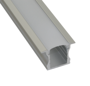 EXT5 Recessed Mounted Aluminium Extrusion