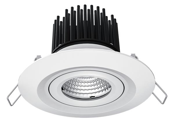 GERIE Series 9.5W Dimmable IP65 Rated LED Downlights