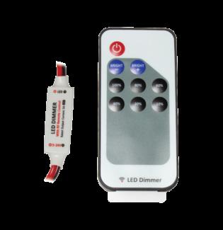 SCD107W Mini RF Single Colour LED Controller Kit