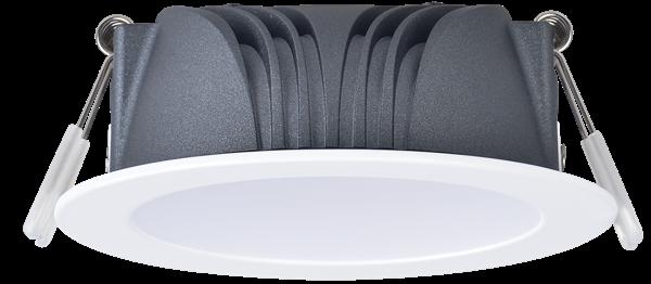 ZEN-V Series Dimmable IP44 Tri-Colour White LED Downlight