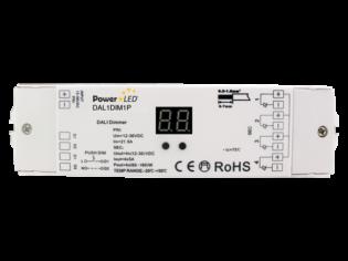 DAL1DIM1P - DALI Push Series Dimmer from PowerLED