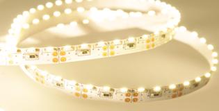 FS5-W1210-12-60-IP20 - Warm White Edge Side Lit 5mm IP20 60LEDs Per Metre