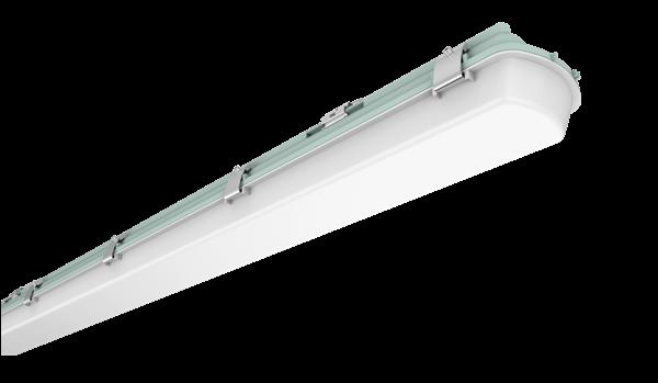 ORRV4T40-3C-EM 4FT Weather Proof Single - Emergency Lighting - 40W LED Batten Light