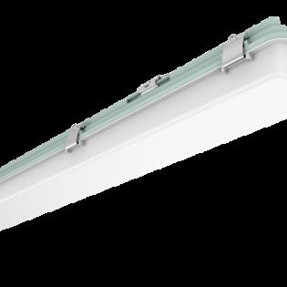 ORRV4T40-3C-MS-EM 4FT Weather Proof Single - Microwave Sensory & Emergency Lighting - 40W LED Batten Light