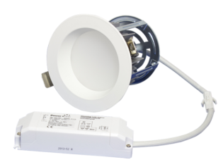 "ZEN5 16W4K-W 16W Fixed 5"" Round 4000K White LED Downlight"
